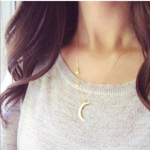 💫✨Brand New,🌟Star🌙 Moon Pendent Necklace ✨💫